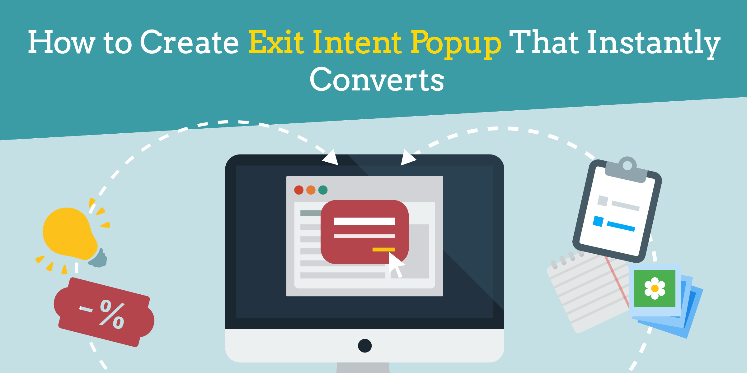 exit intent popup anatomy