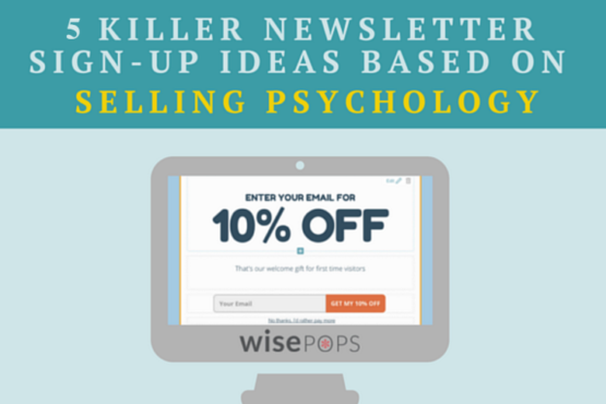 Selling Psychology - Wisepops