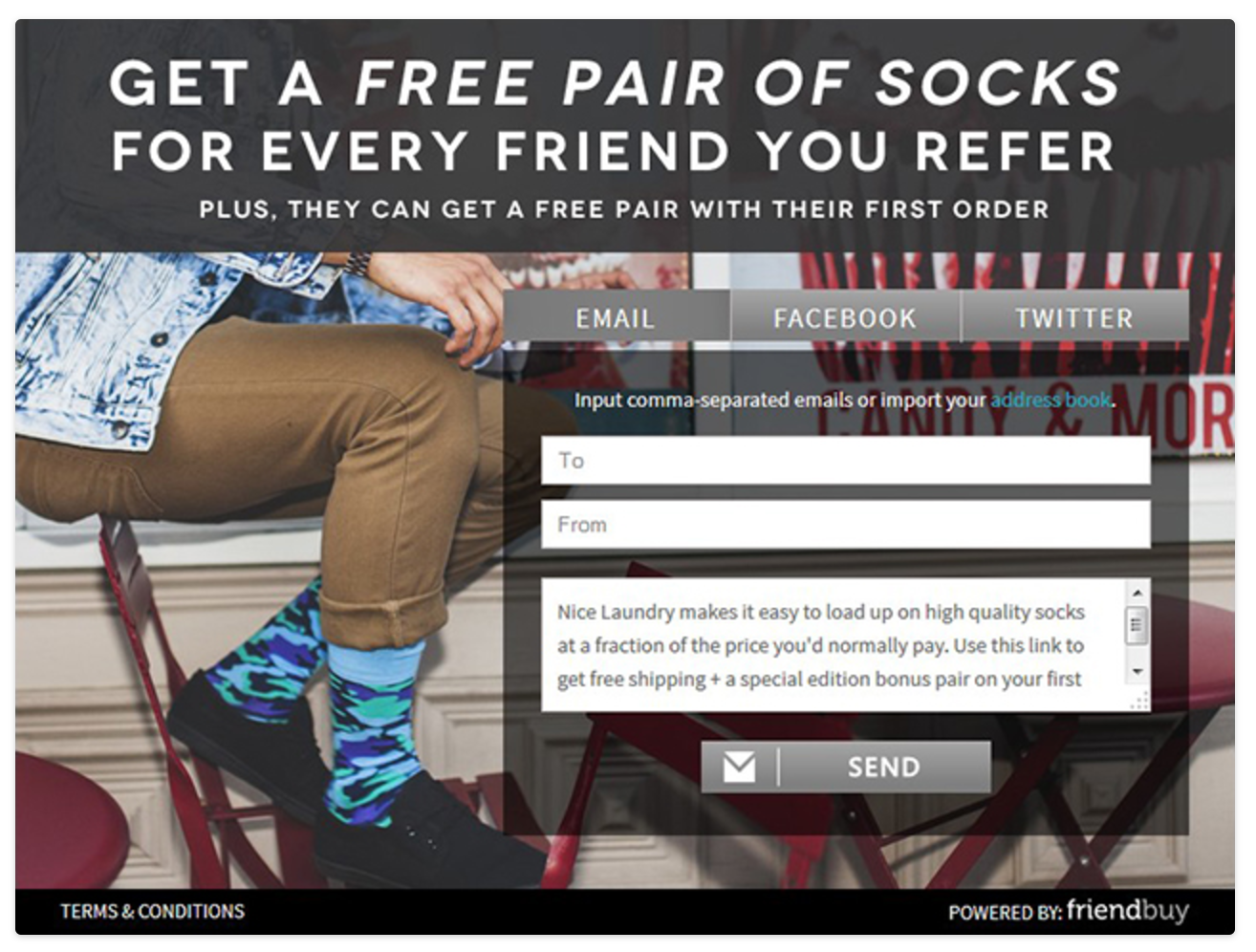 Nice Laundry referral program