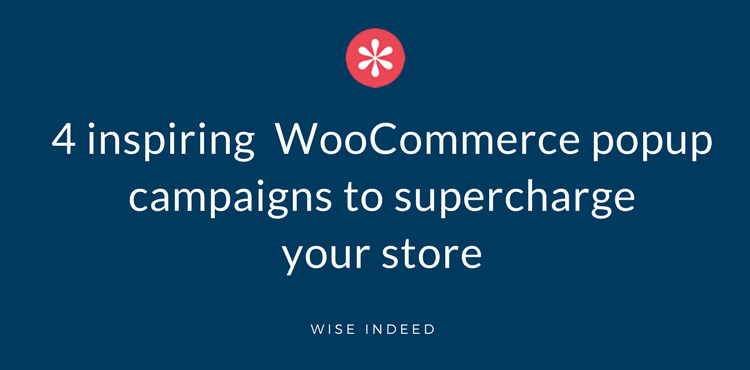 Blog - WooCommerce popup
