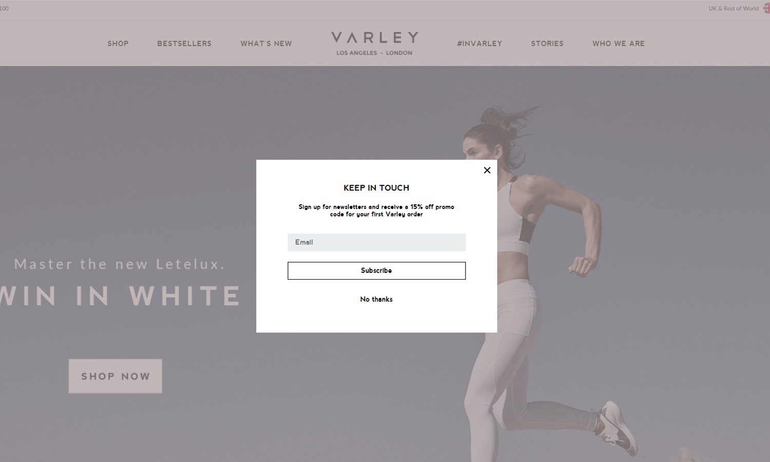 Varley Clothing