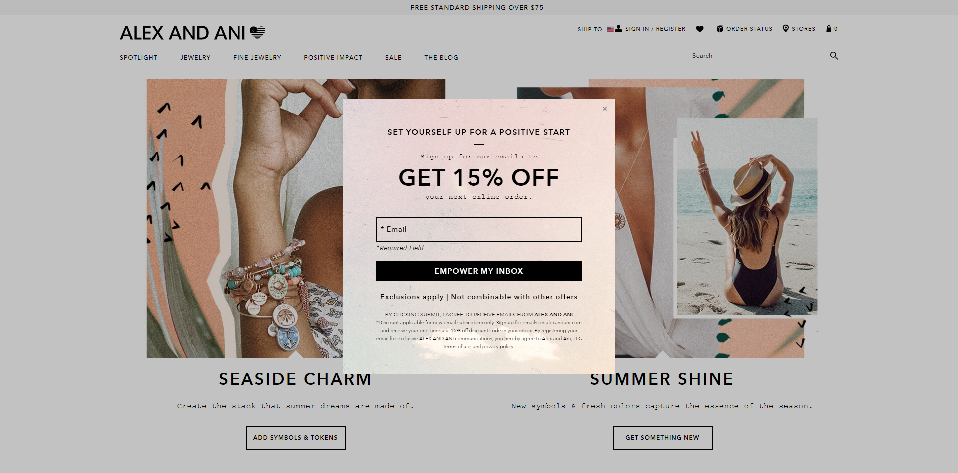 An exit offer on alexandani.com
