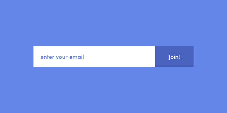 a boring signup form example